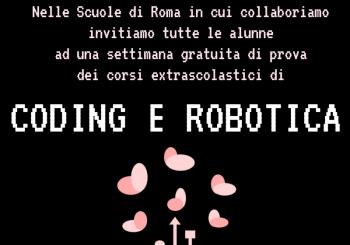 "Roma. Evento: ""Coding e robotica"""