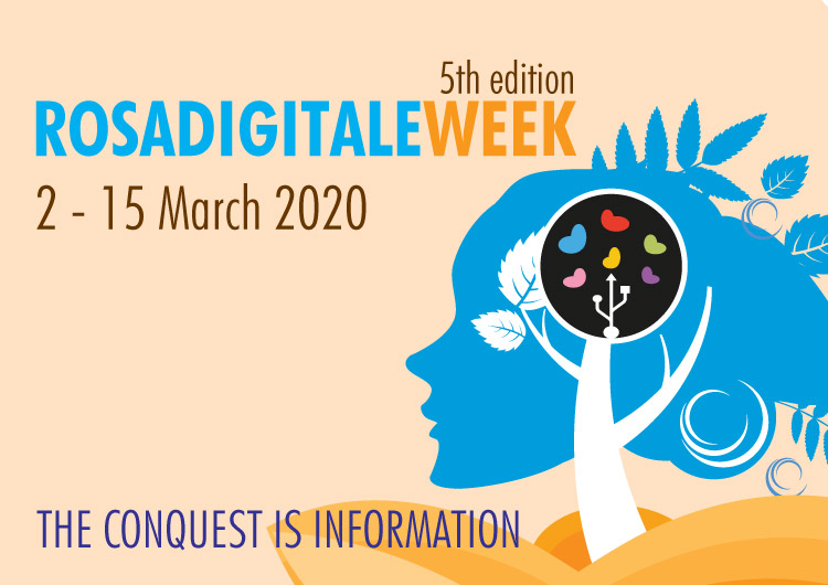 Rosadigitale Week: from the 2nd to 30th April 2020.